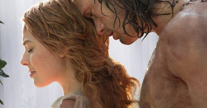 Check out a first official look at Margot Robbie as Jane and Alexander Skarsgard as Tarzan in the upcoming David Yates-directed film.