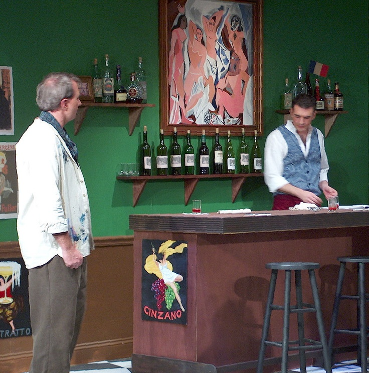critique of picasso at the lapin Picasso at the lapin agile is a full-length play written by american actor, comedian, writer, producer, and musician steve martin in 1993 description the play .