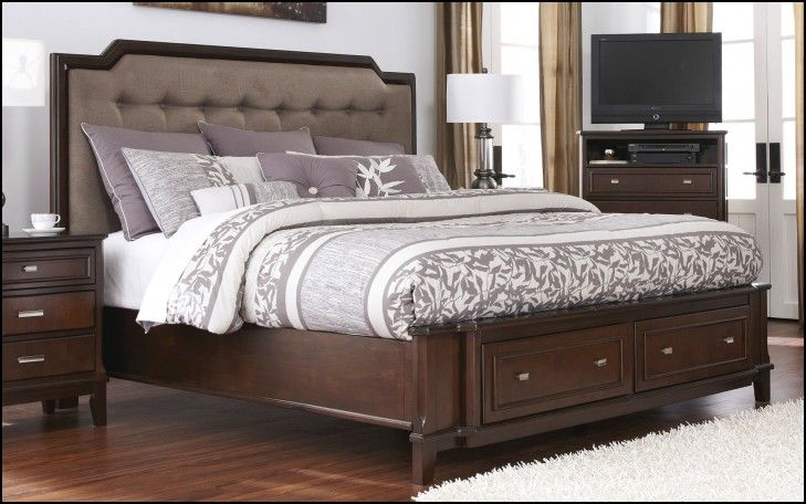 Cheap King Size Bed with Mattress
