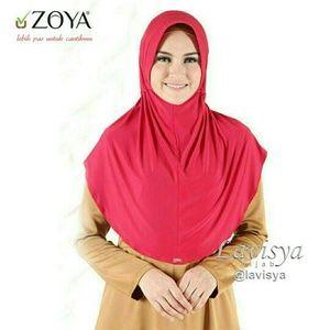 Jual Hijab Zoya Husna Casual / Kerudung / Bergo / Jilbab Instan - Lavisya Hijab   Tokopedia