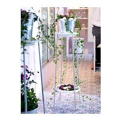 Ikea 365 glass clear glass plant stands pedestal and products - Pedestal para plantas ...