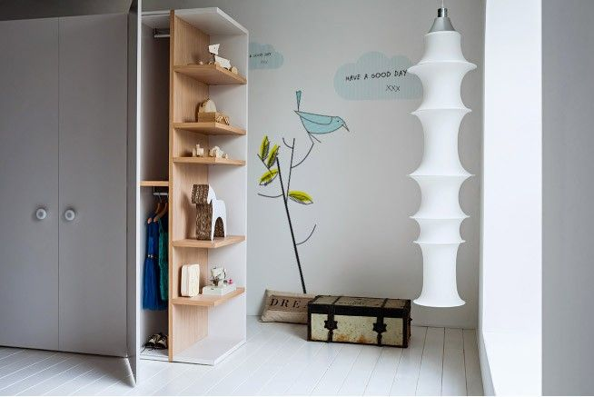 Battistella // Nidi - woody collection wardrobe ; combination wardrobe and wall units are a feature of all three collections
