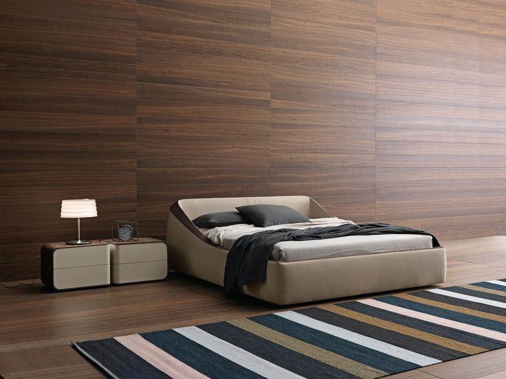 Presottonotte letto imbottito e sfoderabile brera design - Abbraccio letto ...