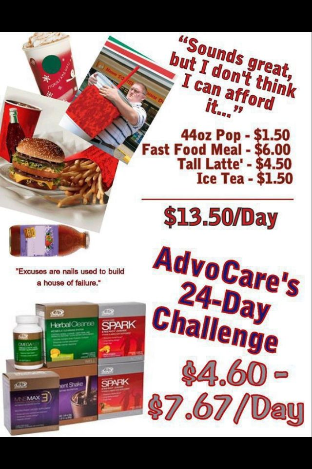 Something to think about!!! AdvoCare advocare!!! Ask me about it