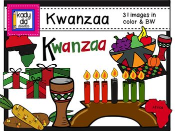 17 Best images about Clipart: December: Kwanzaa on Pinterest ...