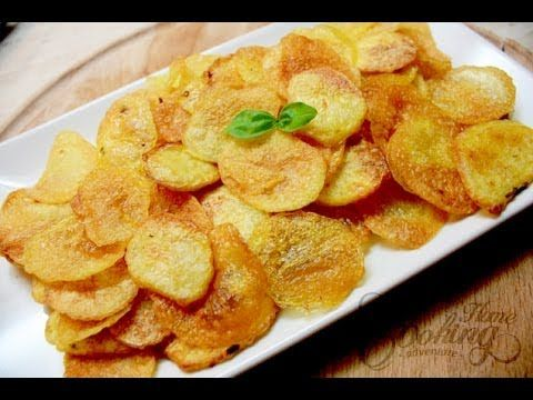 Homemade Baked Potato Chips :: Home Cooking Adventure