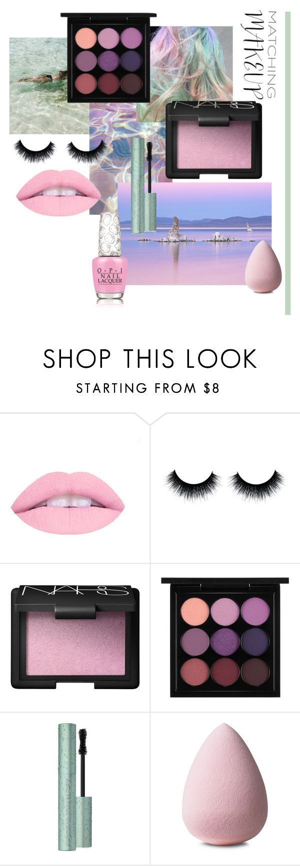 """""""Matching Makeup"""" by eviejessup on Polyvore featuring beauty, NARS Cosmetics, MAC Cosmetics, Too Faced Cosmetics and OPI"""
