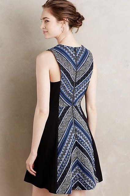 Pyramid Flare Dress