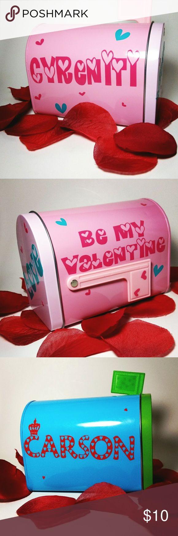 Mini Valentineu0027s Day Mailboxes
