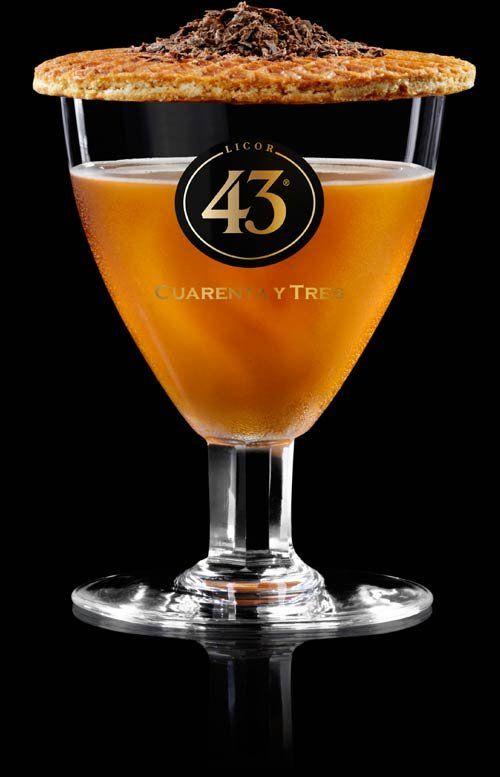 Puur Recepten - Licor 43  Brandy 43 Con Sombrero