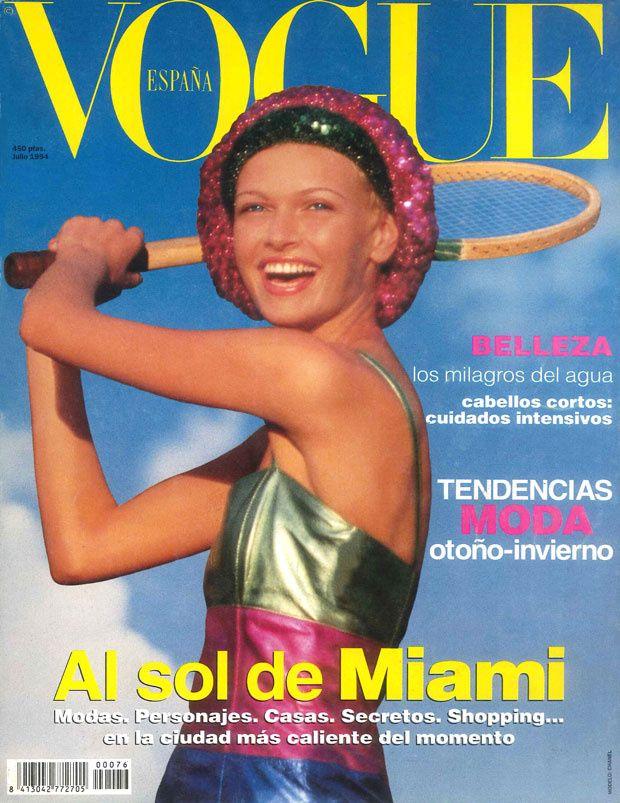 Sarah Murdoch Vogue Espana July 1994