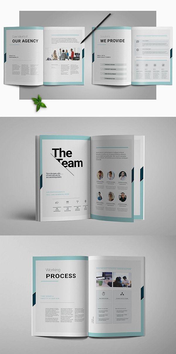 Proposal Brochure Templates Booklet Design, Brochure Design