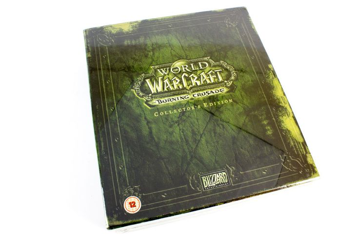 World of Warcraft: The Burning Crusade Collectors Edition, EU (UK), Sealed