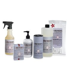 mrs meyers clean day aromatherapeutic lavender cleaning products