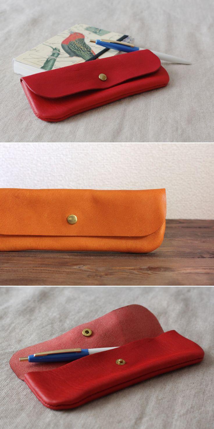 leather pen case | Duram Factory