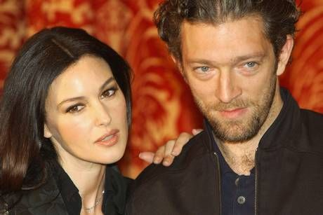Bellucci with Vincent Cassel in 2004