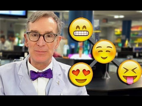 Watch Bill Nye use emoji to explain evolution