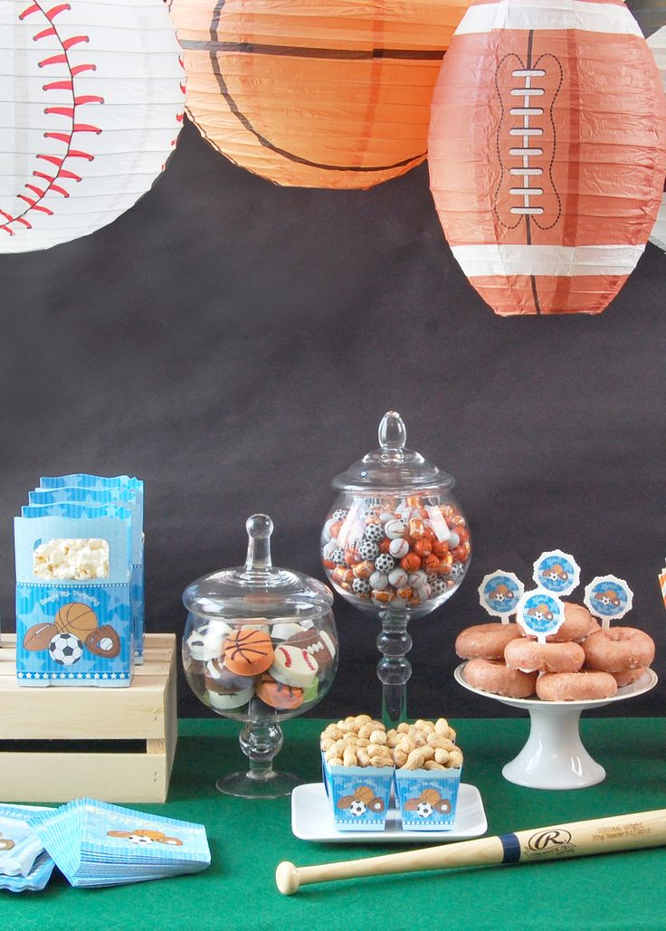 Hit it out of the park with a fun sports themes birthday party! Shop the collection of sports favors, decorations and supplies.