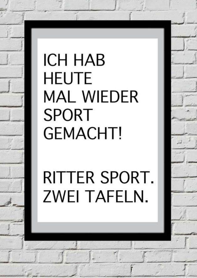 Poster mit Spruch // quote print via DaWanda.com