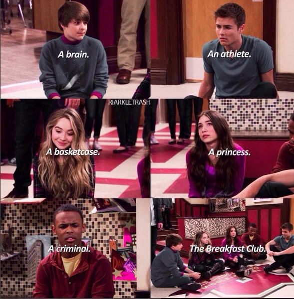 Maya and Riley and farkle and zay and Lucas