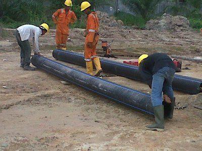 Proyek pemasangan pipa HDPE di PT. Pec-Tech,  Dumai, Riau. Kami adalah supplier dan ahli pemasangan pipa HDPE Wavin. Coba periksa portfolio proyek kami di perusahaan-perusahan besar dan semoga kita bisa bekerjasama  Astyco 0813 1111 1961  Villa Nusa Indah Blok T1 No 11, Jati Asih, Bekasi, 17424. Phone Office : ( 021 ) 8229443 Fax Office : ( 021 ) 8229441  E-Mail Office : astycois@yahoo.co.id Website…