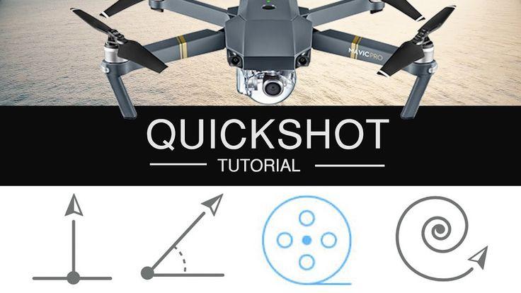 Dji mavic pro quickshot tutorial how to dronie rocket