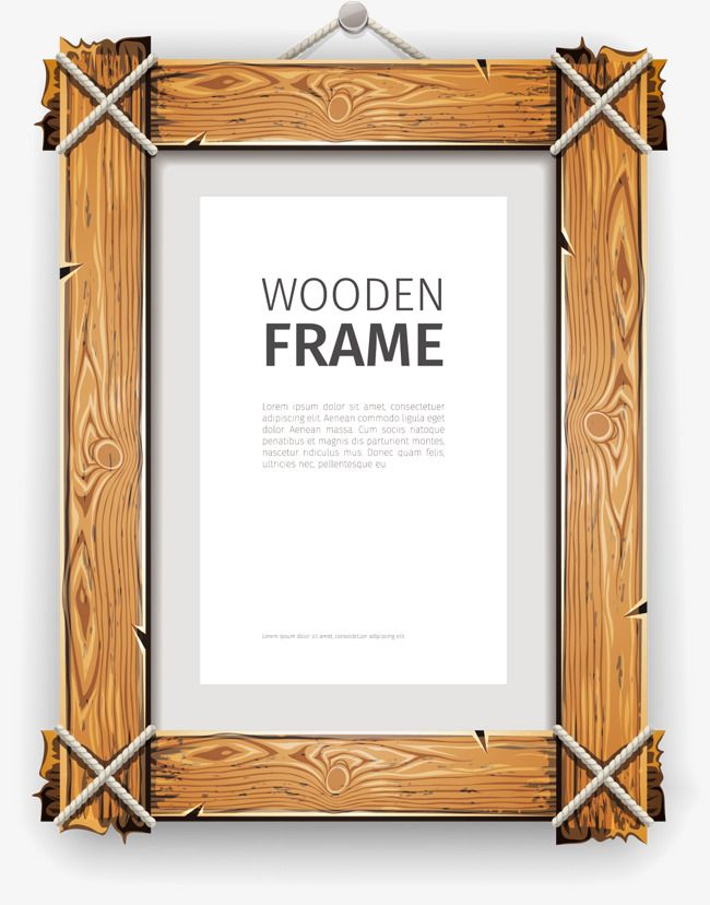 Wood Frame Png And Vector