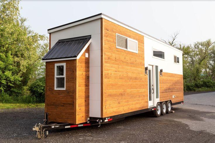 32ft Modern Tiny Home By Liberation Tiny Homes Tiny