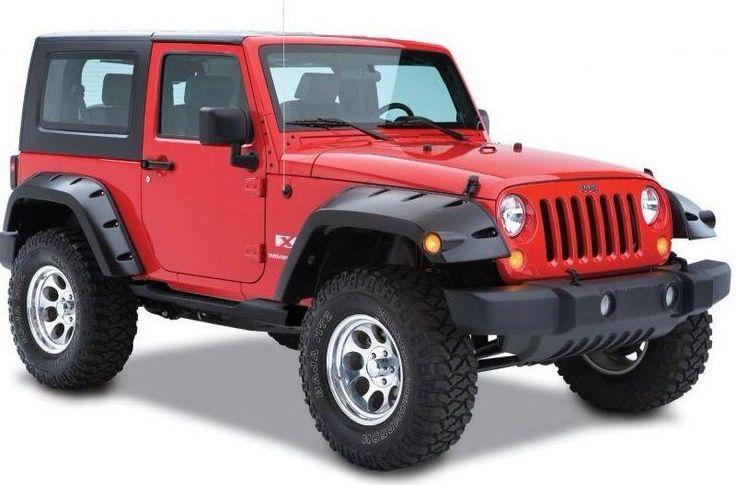 Jeep Wrangler Jk nail crusher flairs