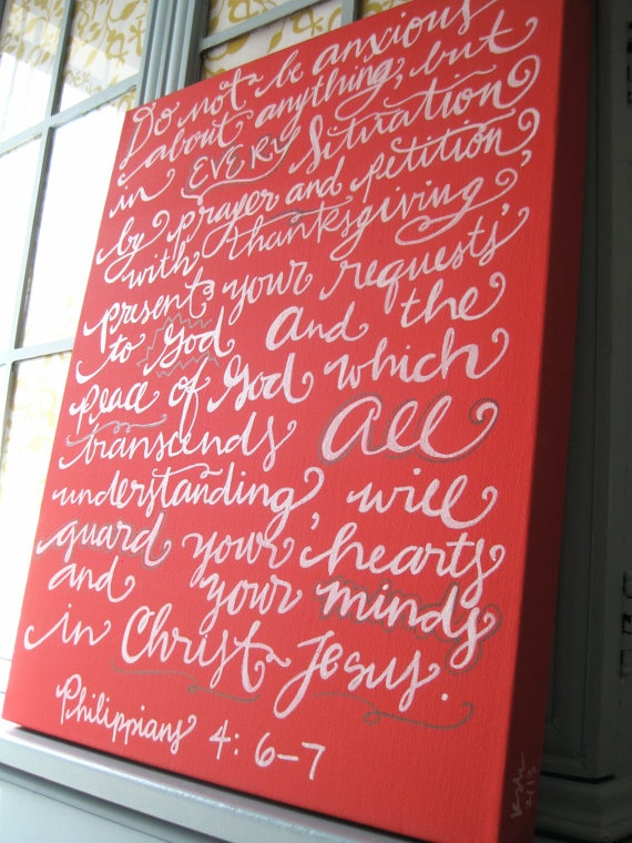 16x20 Scripture Canvas Art I love this idea!  I could do so many scriptures and have them all over my home!