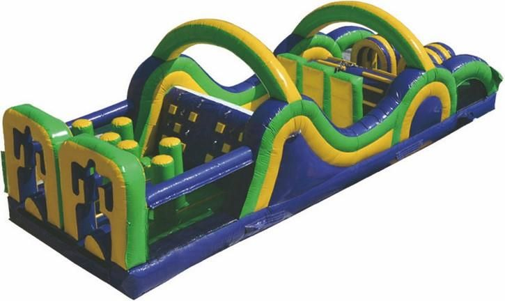 Radical Obstacle From Castle Capers Jumping Castle Hire