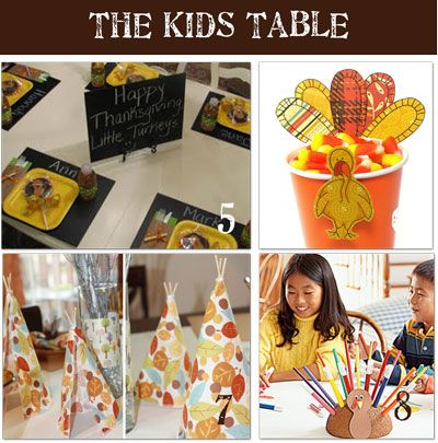craft station - white butcher paper and turkey marker caddy if craft over quickly to keep kids occupied.