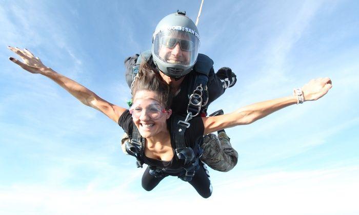 Skydive San Diego   Groupon   Skydive san diego, Skydiving