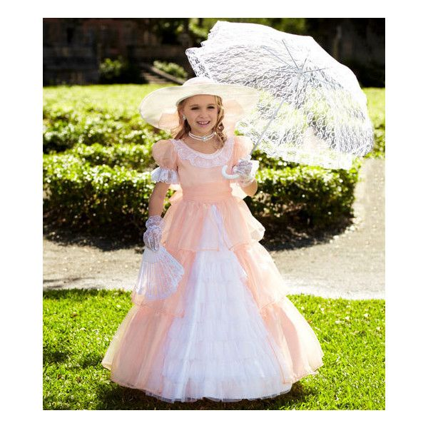 peach southern belle child costume - Chasing Fireflies ($78) ❤ liked on Polyvore