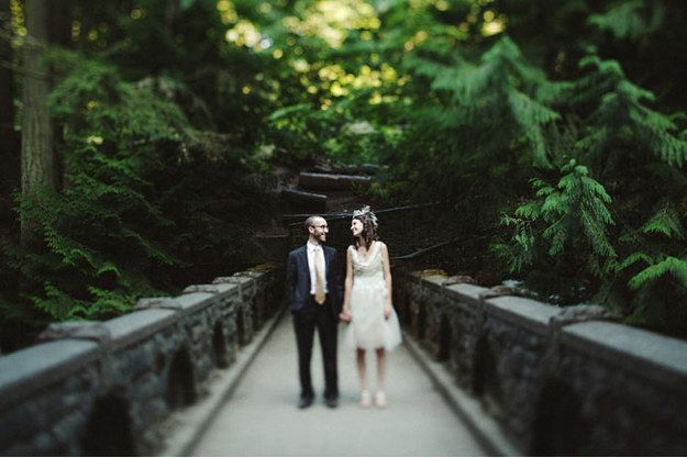 Have a free reception in a national park. | 18 Ways Real People Had Their Dream Weddings For $5,000 Or Less