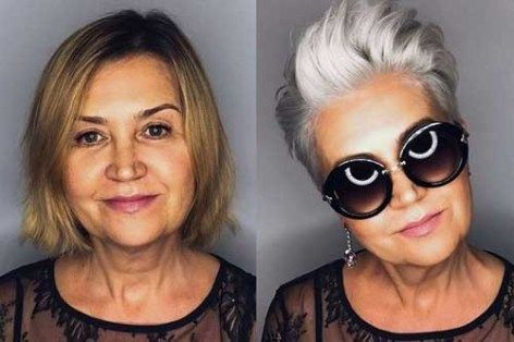 Short Haircuts For Older Women 2018 2019 Hair Hair Cuts Short