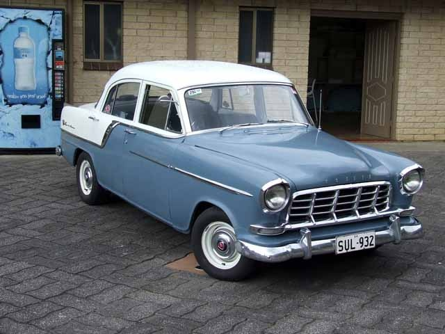 Had a Holden FC Special but with a darker blue bottom half