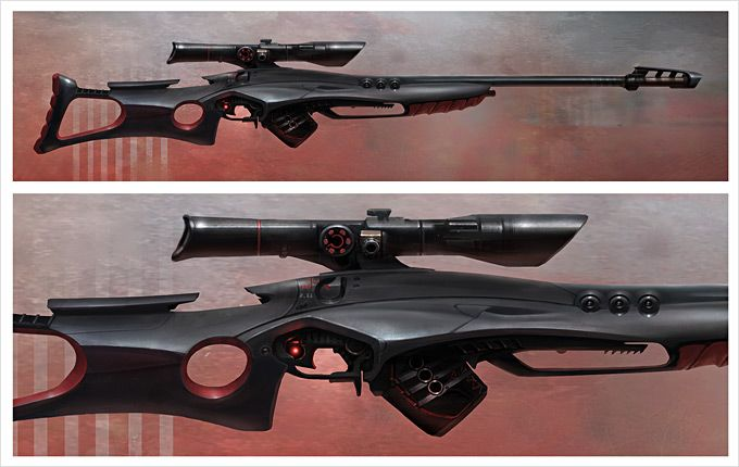 Weapon Concept Art Cliff Childs