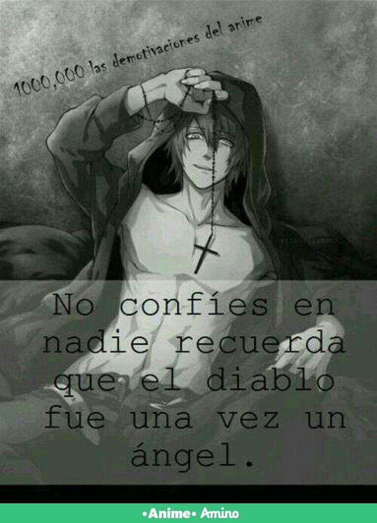 En esta vida no se puede confiar en nadie