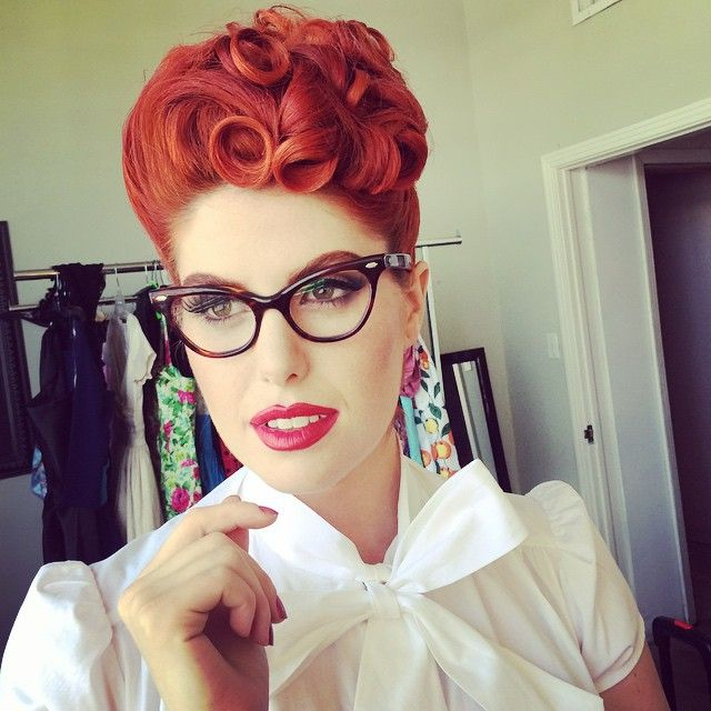 Super 1000 Images About Rockabilly Amp Pin Up Hair And Makeup On Short Hairstyles For Black Women Fulllsitofus