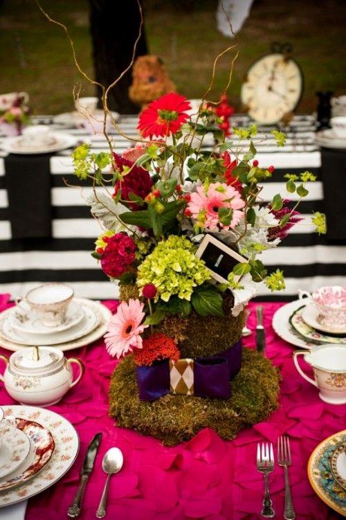 Alice In Wonderland Themed Bridal Shower Inspiration   Weddingomania