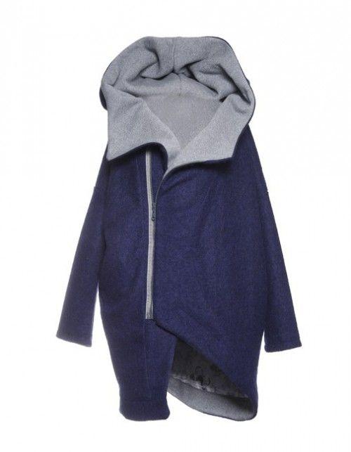 Płaszcz z Kapturem - Asymetry Hood
