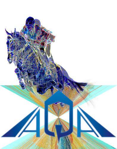 Pannello d'arredo con logo aziendale AQA © Carina Aprile