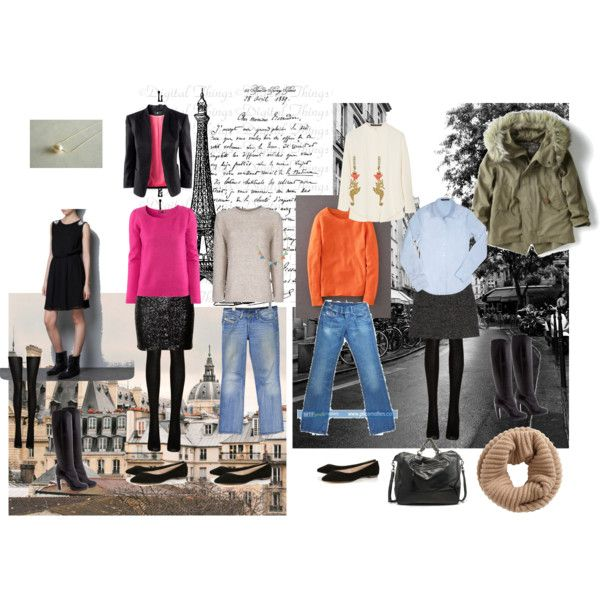 """""""Paris packing"""" by clemoi on Polyvore"""