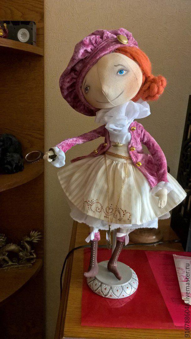 Купить Куклы тыквоголовки - кукла ручной работы, кукла интерьерная, кукла текстильная, кукла Тильда