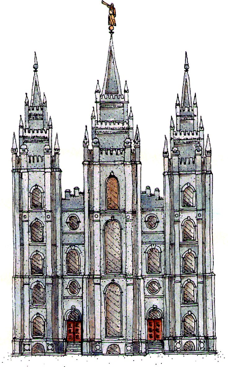 Salt Lake Temple-symbols. Did you know there is a big dipper on the temple? do you know what all the spires represent? Find out the answers plus other fun facts