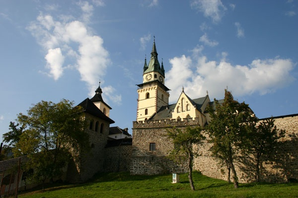 Another beautiful castle in Slovakia.