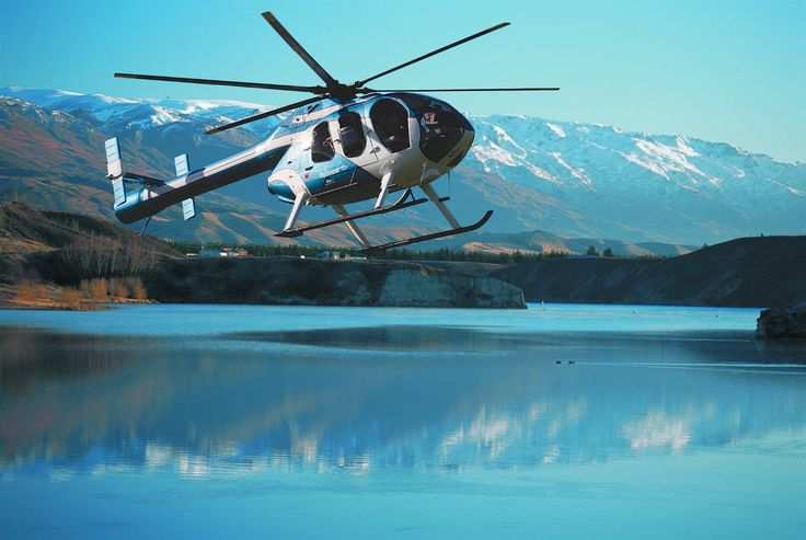 Scenic helicopter flights over the Cromwell Basin.