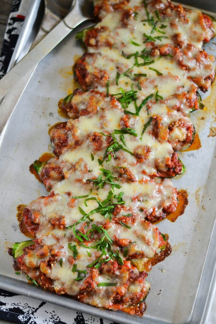 These stuffed zucchini boats are such a great dinner idea!