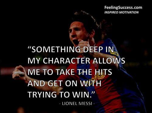 Messi Soccer Quotes. QuotesGram